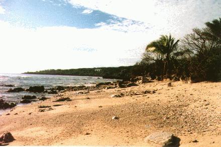 Beach in Banaba